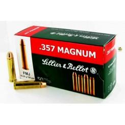 Sellier & Bellot .357 Magnum FMJ 158 grains ammunition