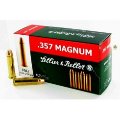 Sellier & Bellot .357 Magnum FMJ 158 Grains