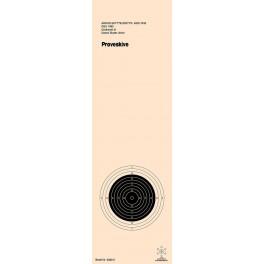 Riffelskive 15 mtr. DSkyU Prøve 3382-2P