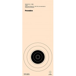 Skydeskive Riffel 15 mtr. DGI 3384-2P