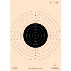 15 mtr. Pistolskive nummereret DSkyU & DGI  4032N