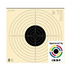 Pistolskive 25/50 mtr. Helskive  m/slids Præcision 3010S