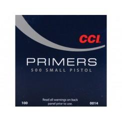 Fænghætter CCI - Small Pistol 500 Primers