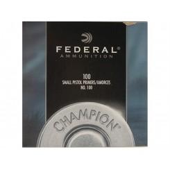 Federal Small Pistol 100 fænghætter