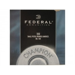 Federal Small Pistol 100