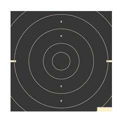 25/50 mtr. Duelcentrumstykke ISSF - 3325