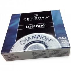Federal Large Pistol 150 fænghætter