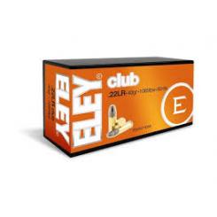 ELEY CLUB .22 ammunition