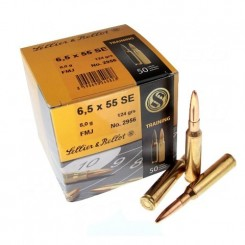 Sellier & Bellot 6.5 x 55 ammunition