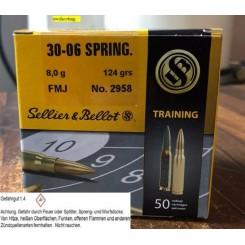 Sellier & Bellot 30-06 SPRING 8,0 g 124 grs. FMJ ammunition