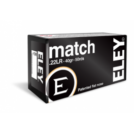 ELEY MATCH.22 ammunition