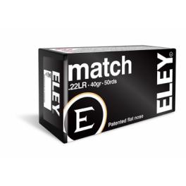 ELEY MATCH .22 ammunition