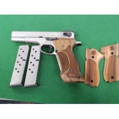 "Smith & Wesson 952-2 - 9mm - 5"" pistol - Brugt"