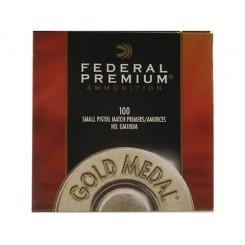 Federal Gold Medal Small Pistol fænghætter