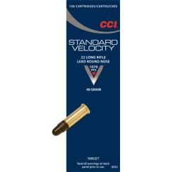 CCI Standard Velocity .22 LR ammunition