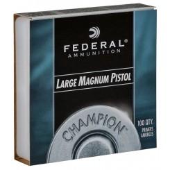 Federal Large Pistol Magnum fænghætter Nr. 155