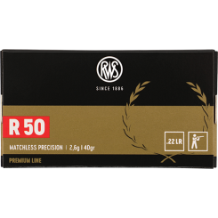 RWS R50 .22 LR