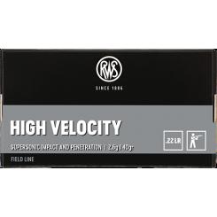 RWS High Velocity .22 LR